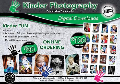 Kinder Digital Download Options From $20