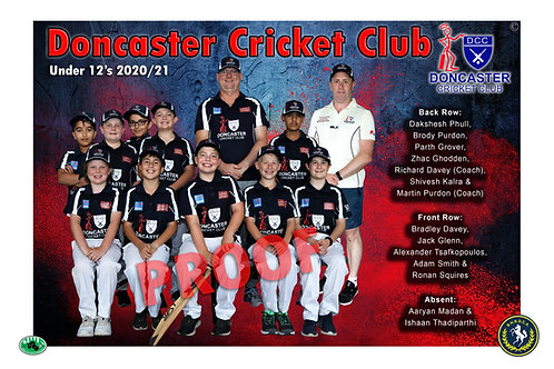Doncaster Cricket Club Team Photo