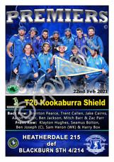 BHRDCA T20 Kookaburra Shield A2 PREMIER