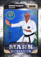 Karate Member Card Front Mark Richardson