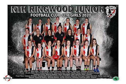 North Ringwood Football Club Team Photo
