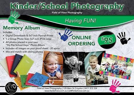Kinder & School  Memory Album