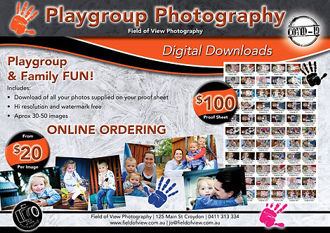 Playgroup Digital Download Options From $20