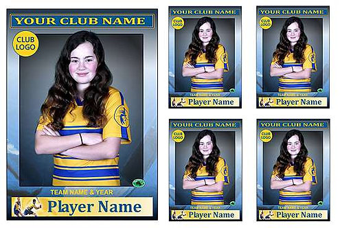 Hockey Player Portrait – 5 in 1 Pack
