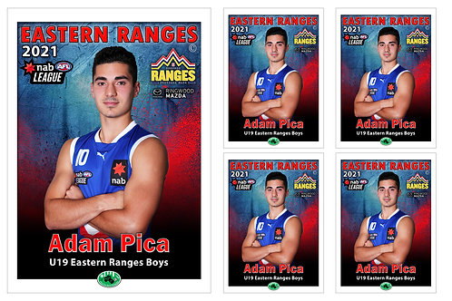 Eastern Ranges Player Portrait – 5 in 1 Pack