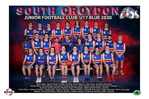 Sth Croydon Junior Football Club Team Photo