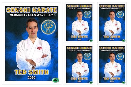 Karate Member Portrait – 5 in 1 Pack