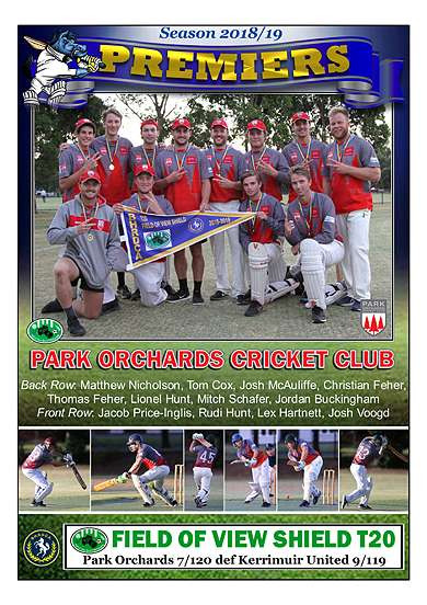 Park Orchards FOV T20 Poster in border-0