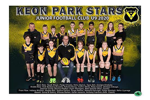 Keon Park Football Club Team Photo