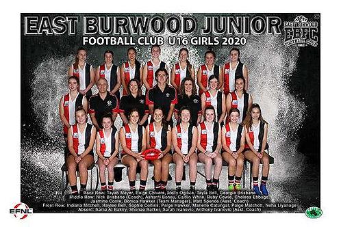 East Burwood Football Club Team Photo