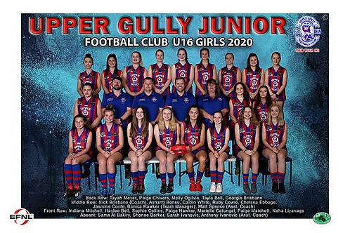 Upper Gully Football Club Team Photo