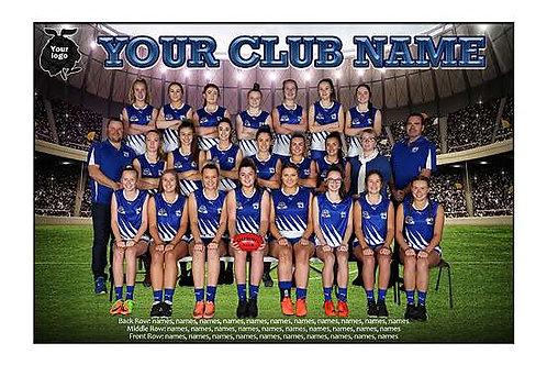 East Burwood Junr Football Club Team Photo