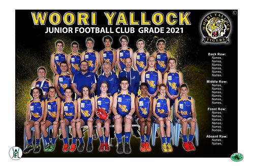 Woori Yallock Football Club Team Photo