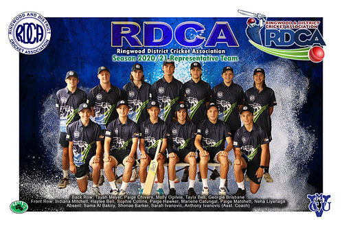 RDCA Cricket Team Photo