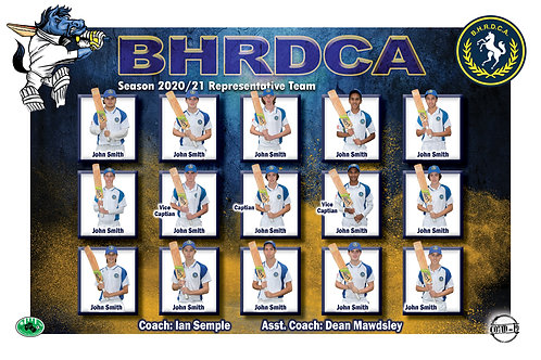 BHRDCA Cricket Team Photo