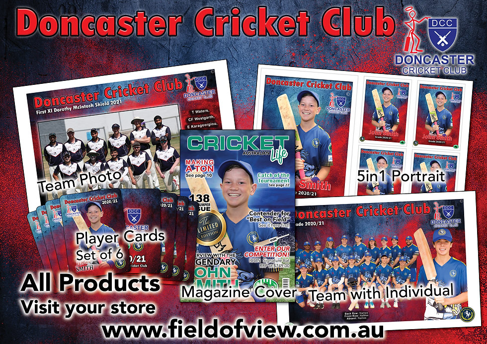 Doncaster Cricket Club All Shop Products