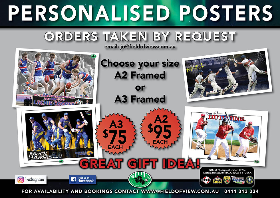 Personalised Gift Posters Order by Reque