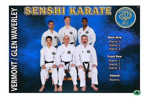 Karate Team Photo