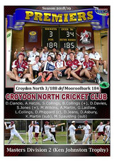 Masters Div 2 Croydon Nth GF Poster in b