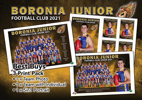 Woori Yallock Football Club Best Buy – All 3 Photos