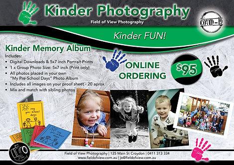 Kinder Memory Album
