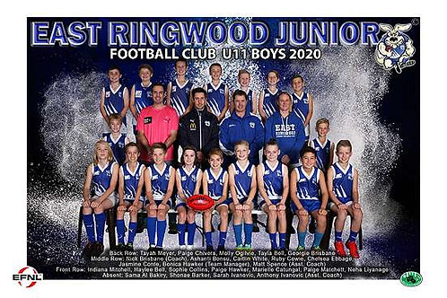 East Ringwood Football Club Team Photo