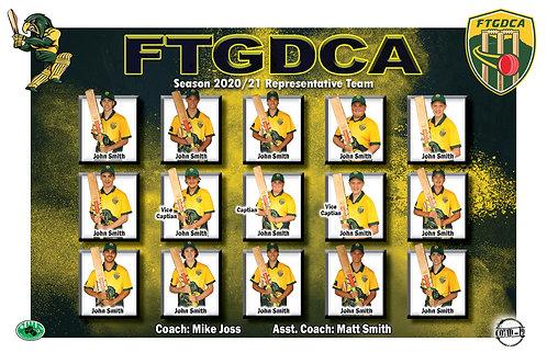 FTGDCA Cricket Team Photo
