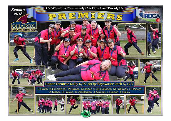 Bayswater Park Womens T20 Premiers Poste