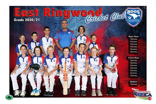 East Ringwood Cricket Team Photo