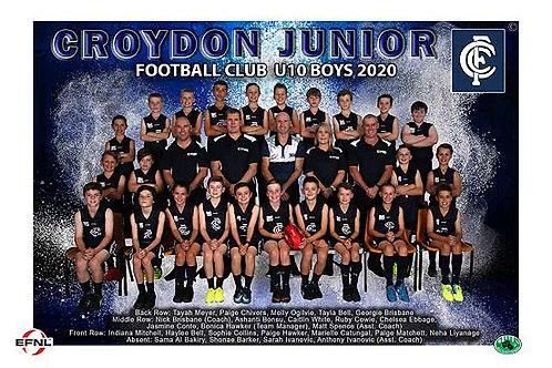Croydon Football Team Photo