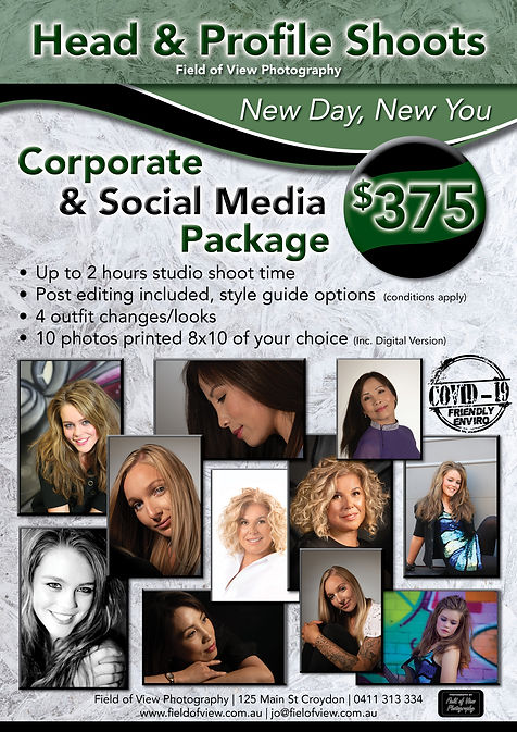 Corporate and social media package A4 fl