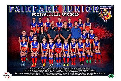 Fairpark Football Club Team Photo