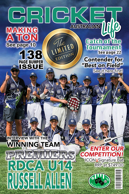 Magazine Cover Player Print