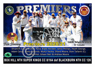 BHRDCA Super Kings A2 PREMIER POSTER LAN