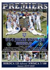 BHRDCA U14 Julie Savage Premiers poster