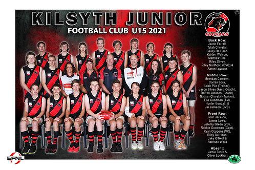 Kilsyth Football Club Team Photo