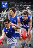 Football Personalised A2 Poster Josh Wei