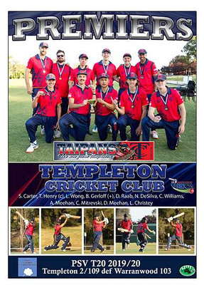 Templeton PSV T20 Poster with new logo A