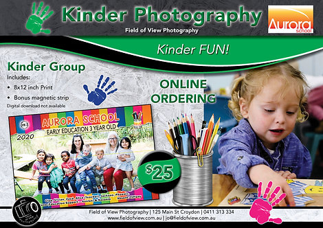 Aurora Kinder Group Photo