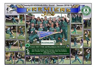 Forest Hill Kookaburra T20 Poster A2-008