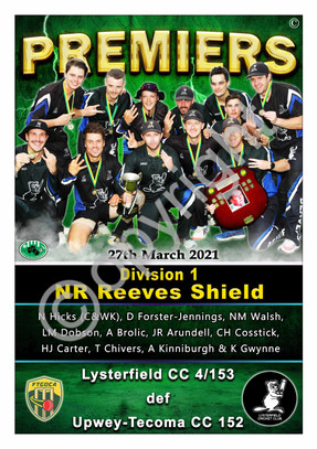 FTGDCA Div 1 NR Reeves Shield A2 PREMIER