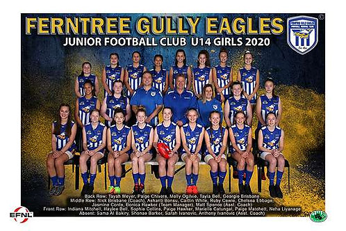 Ferntree Gully Football Club Team Photo