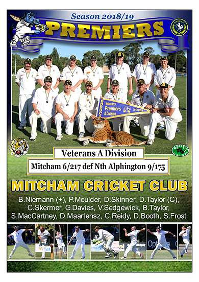 Mitcham Vets Div A Poster in border-016.