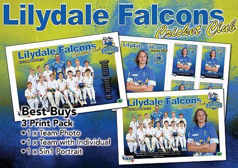 Lilydale Falcons Cricket Best Buy – All 3 Photos