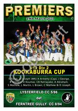 FTGDCA U12 Div 2 Kookaburra Cup Lysterfi