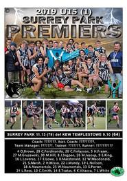 Surrey Park U15 YJFL GF Poster no proof-