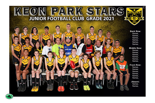 Keon Park Team Photo