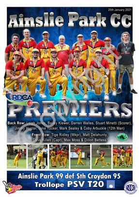 A2 PREMIER POSTER PERSONALISED CRICKET A