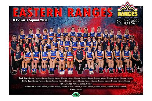 Eastern Ranges Football Club Team Photo