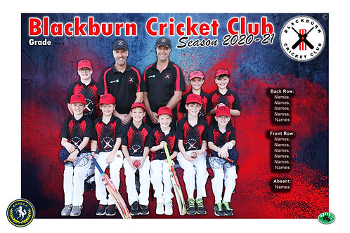 Blackburn Cricket Team Photo
